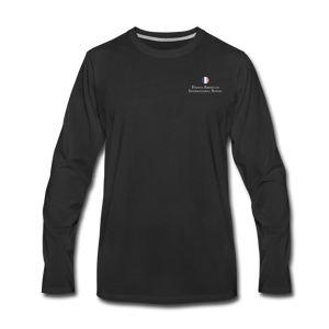 FAIS - Men's Premium Long Sleeve T-Shirt - black