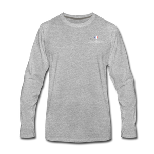 FAIS - Men's Premium Long Sleeve T-Shirt - heather gray