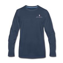 Load image into Gallery viewer, FAIS - Men's Premium Long Sleeve T-Shirt - navy