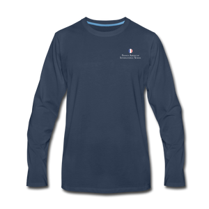 FAIS - Men's Premium Long Sleeve T-Shirt - navy