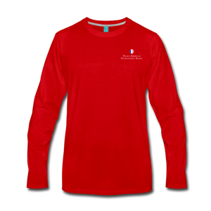 FAIS - Men's Premium Long Sleeve T-Shirt - red