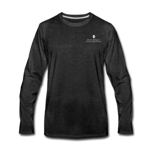 FAIS - Men's Premium Long Sleeve T-Shirt - charcoal gray