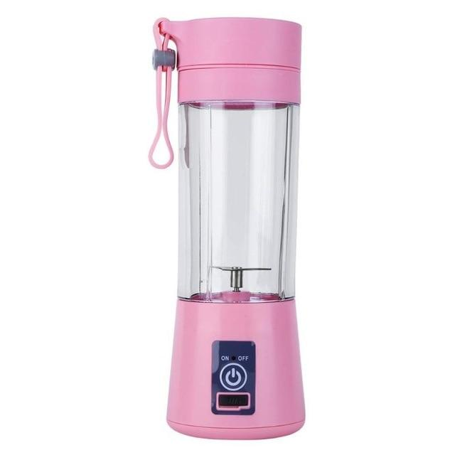 2/4/6 Blades 380ML Handhels USB Juicer Bottle Portable USB Electric Fruit Citrus Lemon Juicer Blender Squeezer Reamer Machine