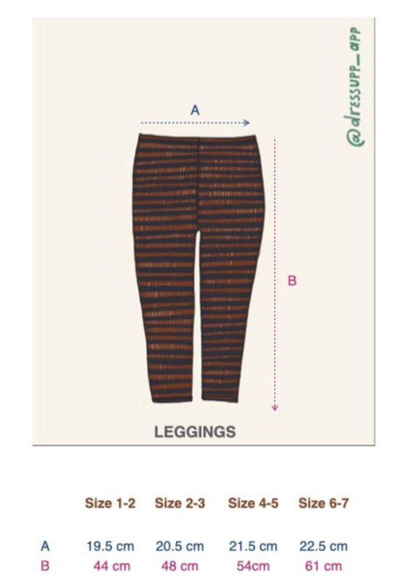 LEGGINGS CAMEL - KIDS