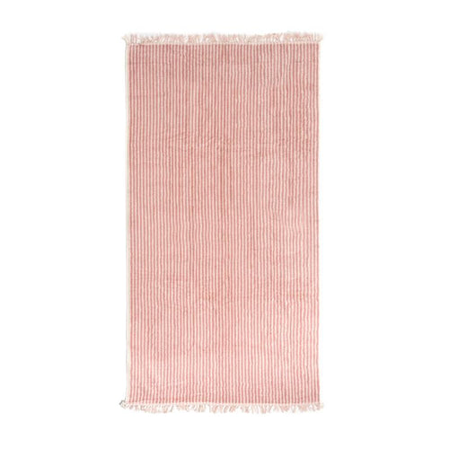The beach towel - Pink Stripe