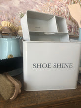 Load image into Gallery viewer, Shoe shine box