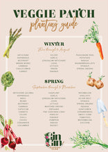 Load image into Gallery viewer, Gin Gin Garden Club Planting Guide