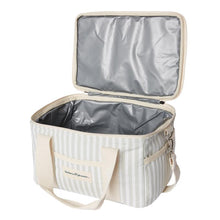 Load image into Gallery viewer, PREMIUM COOLER BAG - Sage stripe