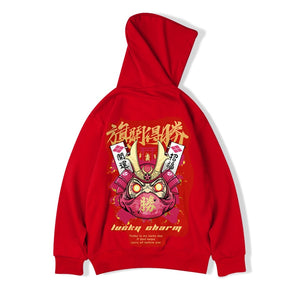Red Shinigami Sweatshirt - 98 New Gate