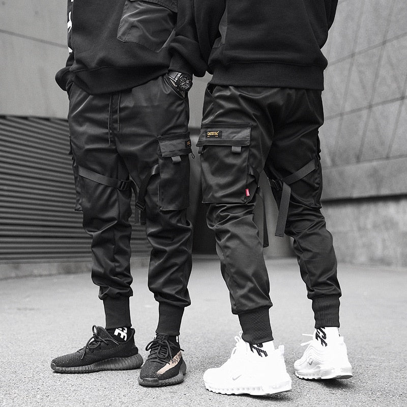 Black Streetwear Pants - 98 New Gate