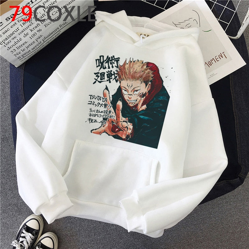 Jujutsu Kaisen Hoodies - 98 New Gate