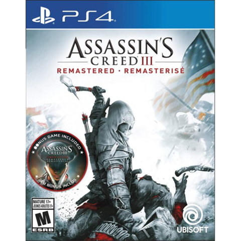 Assassin's Creed III Remastered - PS4 - Preowned