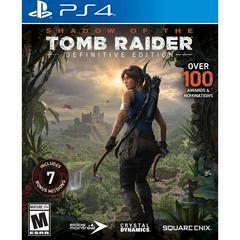 Shadow of the Tomb Raider [Definitive Edition] - Playstation 4