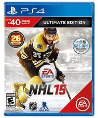 NHL 15 [Ultimate Edition] - Playstation 4