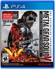 Metal Gear Solid V The Definitive Experience - Playstation 4