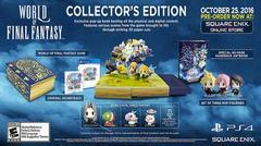 World of Final Fantasy [Collector's Edition] - Playstation 4
