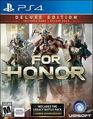 For Honor Deluxe Edition - Playstation 4