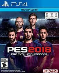 Pro Evolution Soccer 2018 - Playstation 4