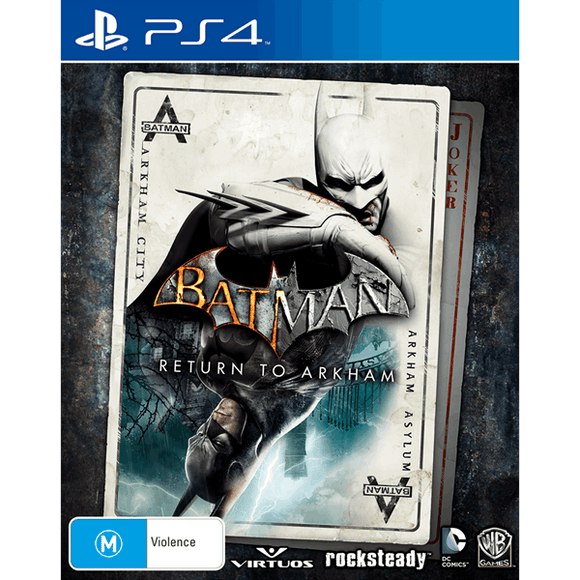 Batman: Return to Arkham - PS4 - Preowned