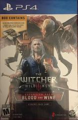 Witcher 3: Blood and Wine - Playstation 4
