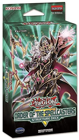 Order of the Spellcasters Structure Deck - YuGiOh