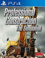 Professional Construction The Simulation - Playstation 4