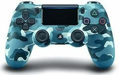 Playstation 4 Dualshock 4 Blue Camo Controller - Playstation 4