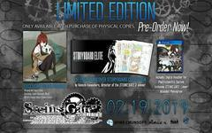 Steins Gate Elite [Limited Edition] - Playstation 4