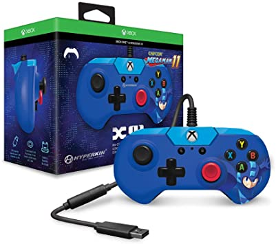 X91 Wired Controller For Xbox One/ Windows 10 PC (Mega Man 11 Limited Edition) - Hyperkin - Officially Licensed By Xbox and Comcast