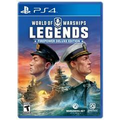 World of Warships Legends [Firepower Deluxe Edition] - Playstation 4