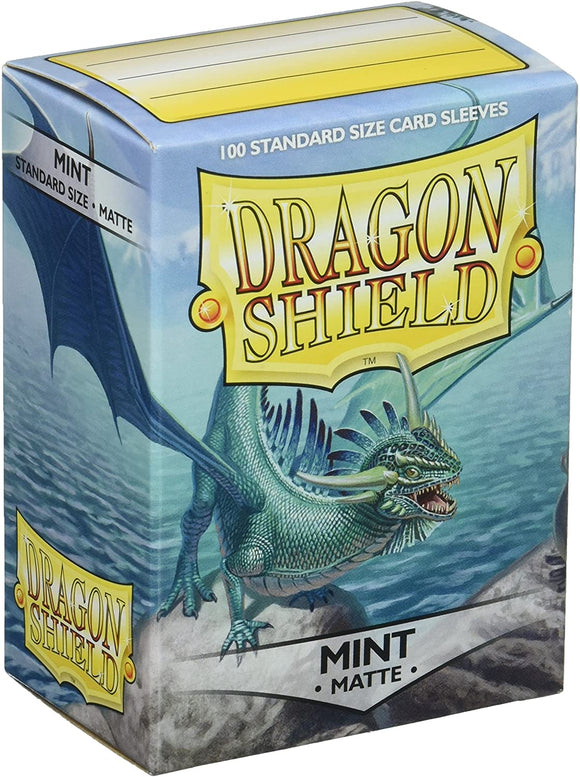 Dragon Shield Matte - Mint Standard Size 100 ct