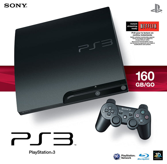 Playstation 3 160gb console - Preowned