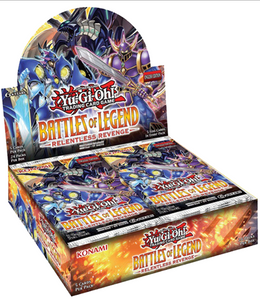 Battles of Legends Relentless Revenge Booster Box - YuGiOh