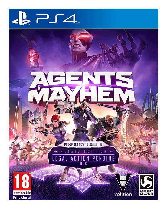 Agents of Mayhem - PS4 - Preowned