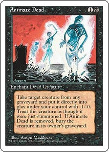 Animate Dead - Fourth Edition