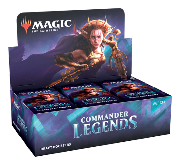 ≡ PREORDER ≡ Magic: The Gathering: Commander Legends - Draft Booster Box ≡ PREORDER ≡