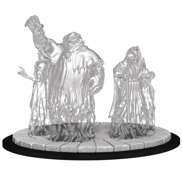 Unpainted Magic Miniatures - Obzedat Ghost Council
