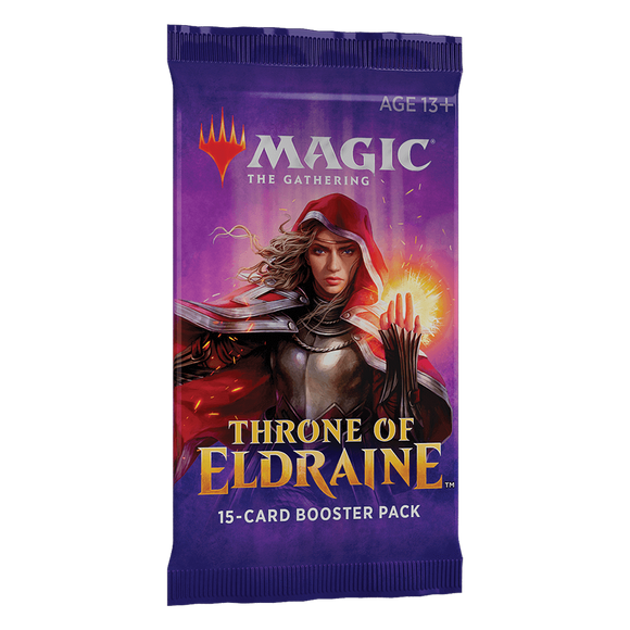 Magic Throne of Eldraine Booster Pack