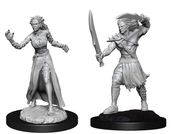 Unpainted Magic Miniatures - Vampire Lacerator & Vampire Hexmage