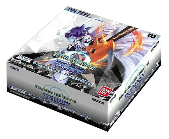 ▲ PREORDER ▲ Digimon: Battle Of Omni - Booster Box ▲ PREORDER ▲