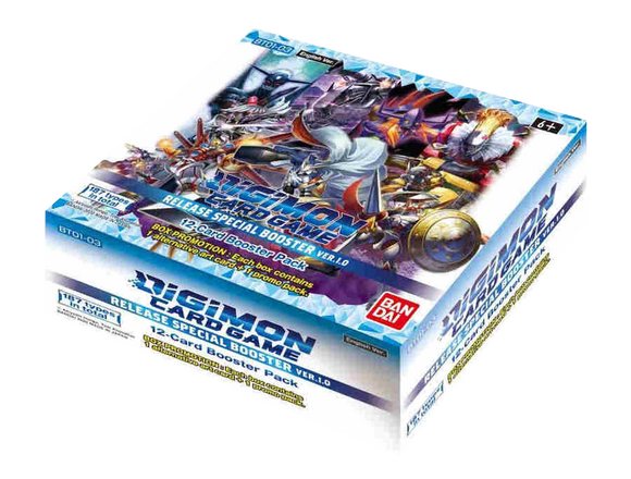 ▲ PREORDER ▲ Digimon: V 1.0 Booster Box - Box ▲ PREORDER ▲