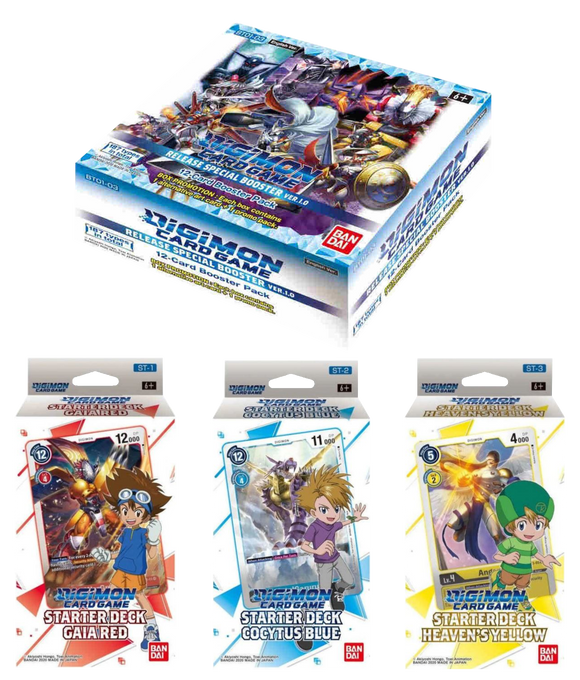 ▲ PREORDER ▲ Digimon - Bundle ▲ PREORDER ▲