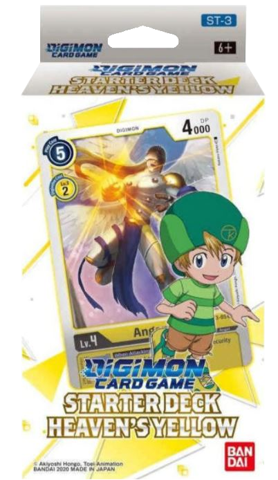 ▲ PREORDER ▲ Digimon: Heaven's Yellow Starter Deck ▲ PREORDER ▲
