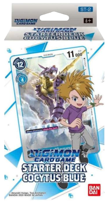 ▲ PREORDER ▲ Digimon: Cocytus Breath Blue Starter Deck ▲ PREORDER ▲