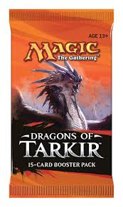 Magic Dragons of Tarkir Booster Pack