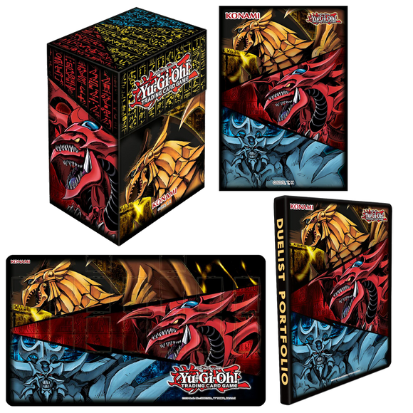▲ PREORDER ▲ Yu-gi-oh! June 2021 Egyptian God Card Accessories Bundle ▲ PREORDER ▲