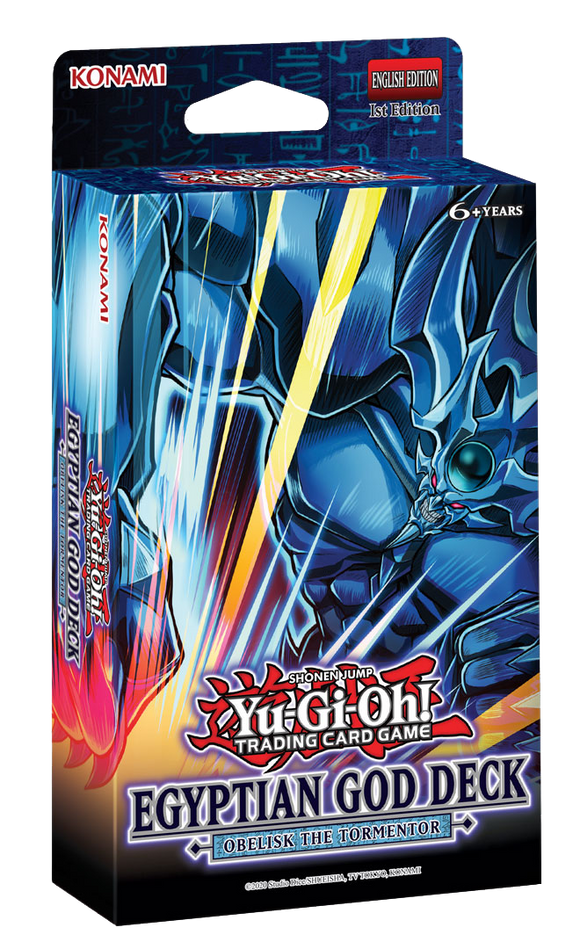 ▲ PREORDER ▲ Yu-Gi-Oh! Egyptian God Deck:  Obelisk The Tormentor ▲ PREORDER ▲