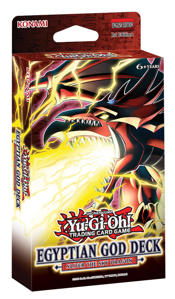 ▲ PREORDER ▲ Yu-Gi-Oh! Egyptian God Deck:  Slifer The Sky Dragon ▲ PREORDER ▲