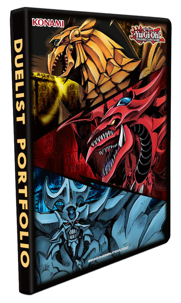 ▲ PREORDER ▲ Yu-gi-oh! June 2021 Egyptian God Card Portfolio ▲ PREORDER ▲