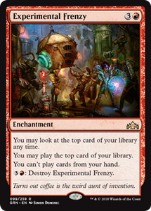 Experimental Frenzy - Guilds of Ravnica